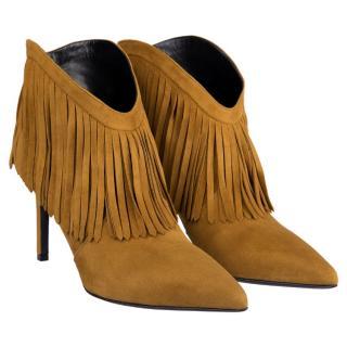 Saint Laurent ss16 leather boots