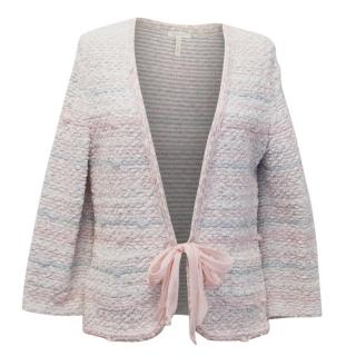 Escada Embellished Tweed Cardigan