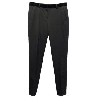 The Kooples Black Straight Legged Trousers
