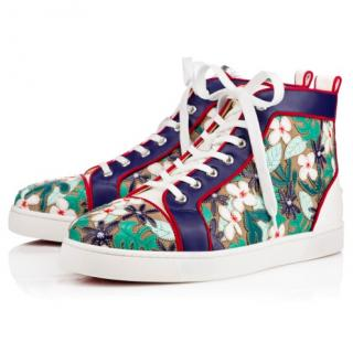 Chtistian Louboutin Louis Patch Nappa Shiny sneakers