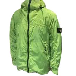 Stone Island lime green wind breaker