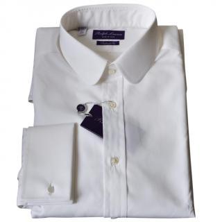 Ralph Lauren Purple Label white dress shirt