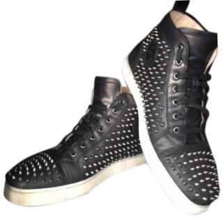 Christian Louboutin Men's Spike Sneakers
