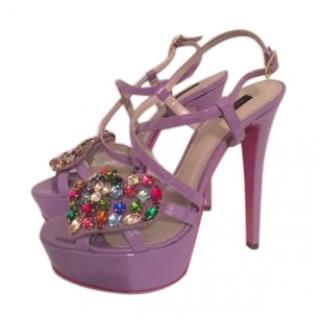 Versus Versace Crystal Heels 37