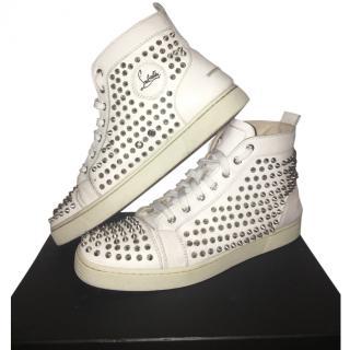 Christian Louboutin Men's Spike Sneakers