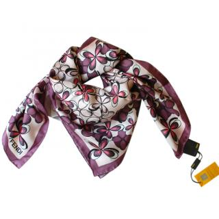 Fendi Silk Scarf