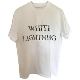 Neil Barrett White Lightning T-Shirt