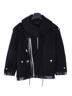 Diesel Black Gold Wool Jacket