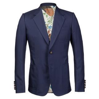 Gucci SS16 Silk Blend Blazer