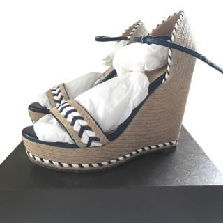 Gucci espadrilles wedge sandals