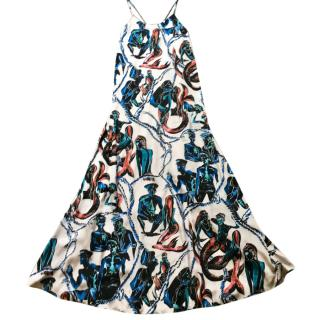 Emilio Pucci silk gown