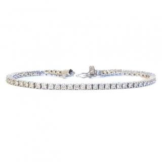 Diamond Tennis Bracelet 18ct Gold