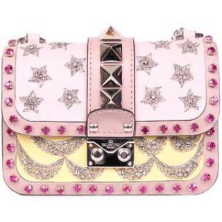Valentino Rockstud Lock MiniStar Handbag