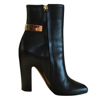 Givenchy black heeled ankle boots
