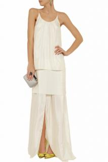 Acne Silk Maxi Dress