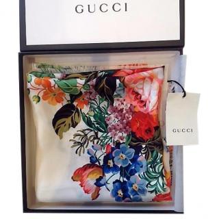 Gucci Floral Silk scarf/shawl