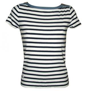 Ralph Lauren jeans striped Breton style top