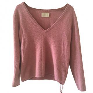 Zadig & Voltaire Pink Cashmere Sweater