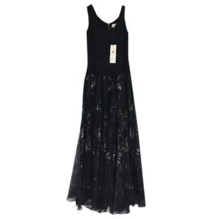 Adam Lippes printed silk Maxi dress