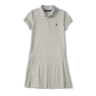 Polo Ralph Lauren Grey Stretch Dress