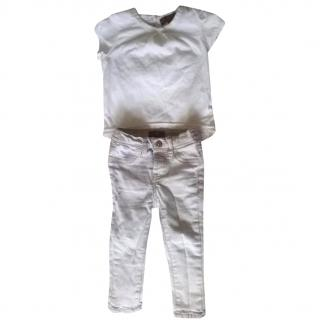 7 For All Mankind Baby jeans and shirt