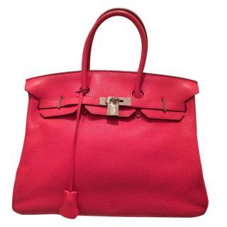 Hermes Pink Birkin 35