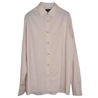 A.P.C. Mens Lightweight Shirt Beige Medium