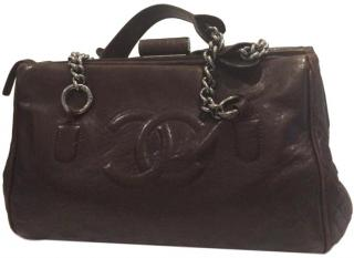 Chanel Lambskin Leather Doctor Tote Bag