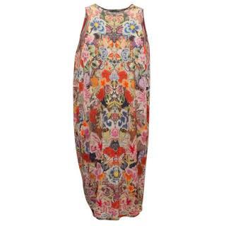 Alexander McQueen Floral Patterned Sleeveless Dress