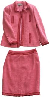 Chanel Pink Suit.Size 42 FR