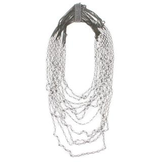 Rosantica Milano Multi Chain Pearl Necklace
