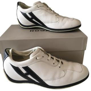 Hogan leather trainers