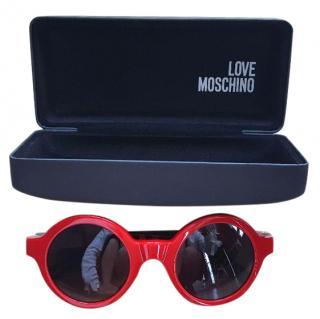Love Moschino Red Sunglasses