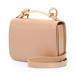 Marni Sculpture Crossbody Bag in Peach Amber