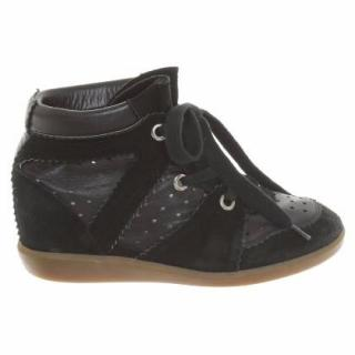 Isabel Marrant bobby black leather shoes
