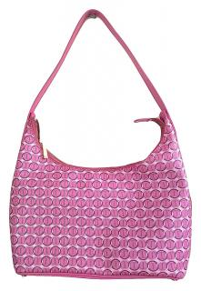 DAVID OFF Pink Canvas Hobo bag