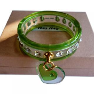 Miu Miu Diamante Charm Bracelet