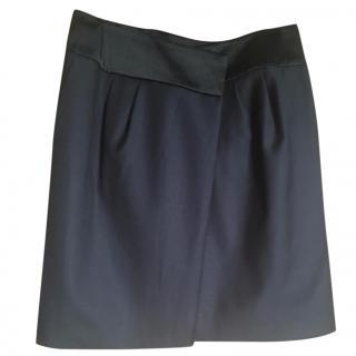 Joseph Black fine wool skirt