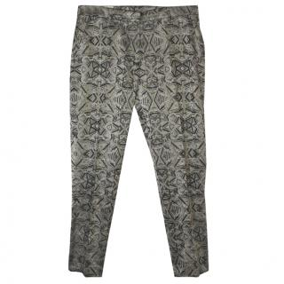 Dries van Noten grey trousers