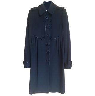 Burberry coat wool UK4 US2 small
