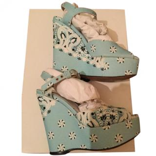 D&G Floral Wedges