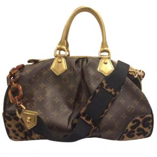 Louis Vuitton Leopard Stephen Bag From LV Stephen Sprouse Collection