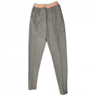 Celine Grey Virgin Wool Trousers