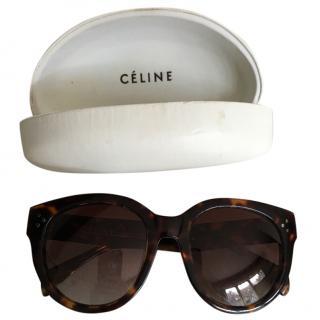 Celine tortoiseshell sunglasses