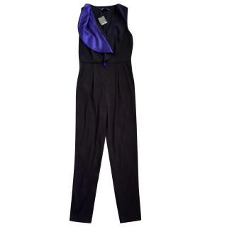 Armani Exchange Black Jumpsuit