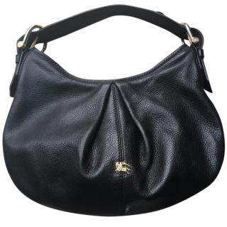 Burberry handbag in black leather