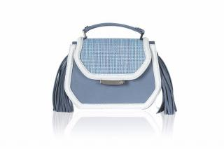 Farah Asmar light blue mini anabella
