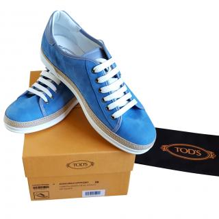 Tod's Blue Sneakers