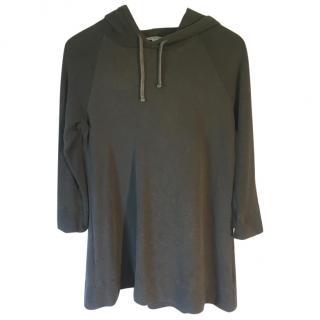 James Perse grey hooded fleece