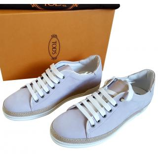 Tod's Lilac Sneakers